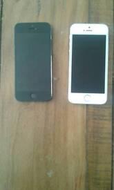 2x iphones 5 (spares)
