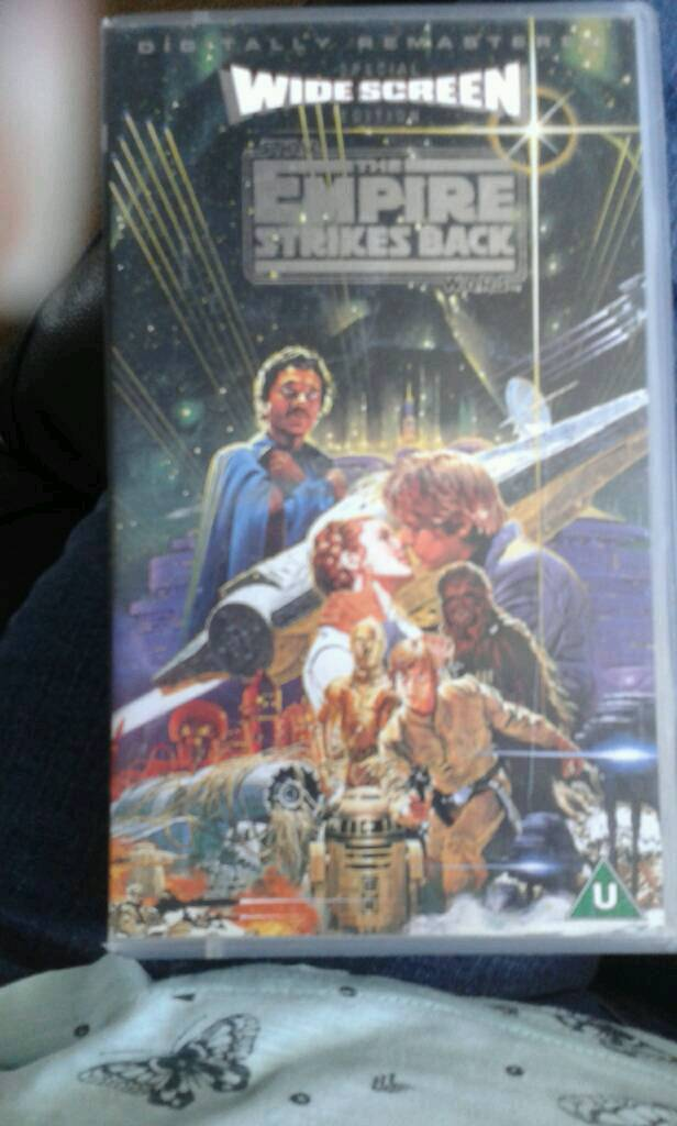 Vhs the empire strikes back