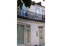 NO DEPOSIT HOUSING BENEFIT OK S.C GROUND FLOOR 1 DOUBLE BEDROOM FLAT PRIV GDN 10 MIN TUBES&BR ZONE 2