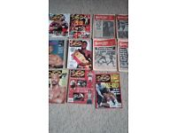 old ring and boxing news mags