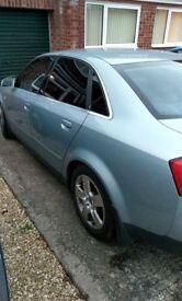Audi A4 1.9 tdi spare or repair