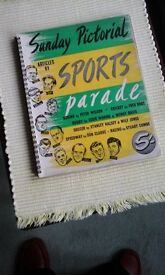 Sunday Pictorial with 50 pages full of all different sports