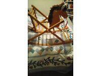 1950's original rocking chair horse