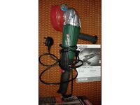 Parkside Angle Grinder PWS 125 A1 - 1200W/230V with New/Unboxed Stand & Range of Discs.