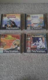 4×old play station games