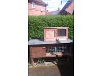 2× Rabbit hutches good condition