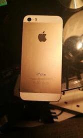 iPhone 5s gold 16GB locked on EE