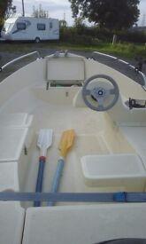 Open Boat SOLAR 360 CATEGORY D/C 3.6 Mt long 1.70 Mt width 4-person Max