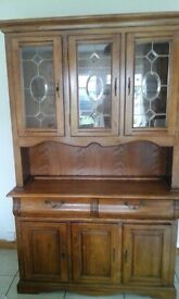 Wooden heavy two piece unit