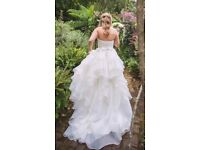 Essence wedding dress £1300. Ivory White, Sweetheart Strapless Corset Lace Up