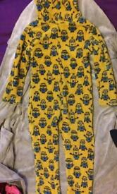 Despicable Me Minions onesie 7 - 8 yrs for boys / girls / Winter / Christmas