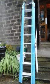 Brand new ladders made by lyte, fibre glass