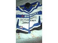 Gsxr joe rocket leather bike jacket