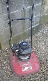 Allen hover mower for spares or repair