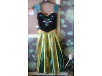 Disney frozen anna dress 11-12 yrs worn once