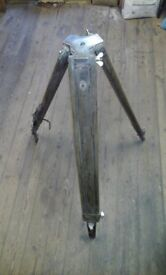 Antique theodolite stand