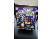 Laser Challenge Game Shoot Back B. A. R. T and Laser Challenge V2 Solo Gear