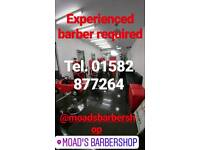 Experienced barber required in luton barber jobs