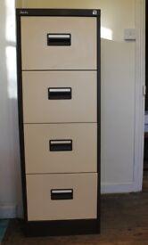 """Silverline"" metal filing cabinet"