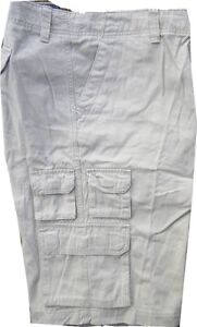 NEW $40 Mens J. FERRAR Classic Stone BIG & TALL Flat Front CARGO SHORTS 42/4444