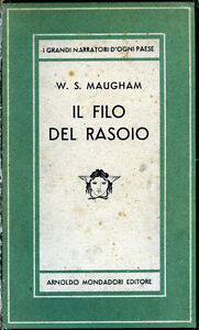 W-SOMERSET-MAUGHAM-1948-034-IL-FILO-DEL-RASOIO-034-A-Mondadori-Editore