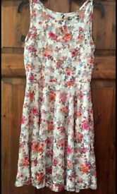 Floral dress size 10 from select