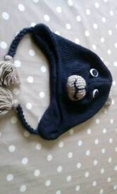 Toddler wooly hat barely worn
