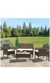 Outdoor garden furniture with Cushions