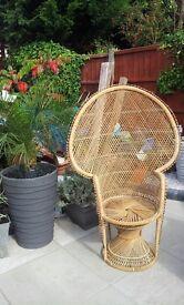 Wicker Chair 1970's