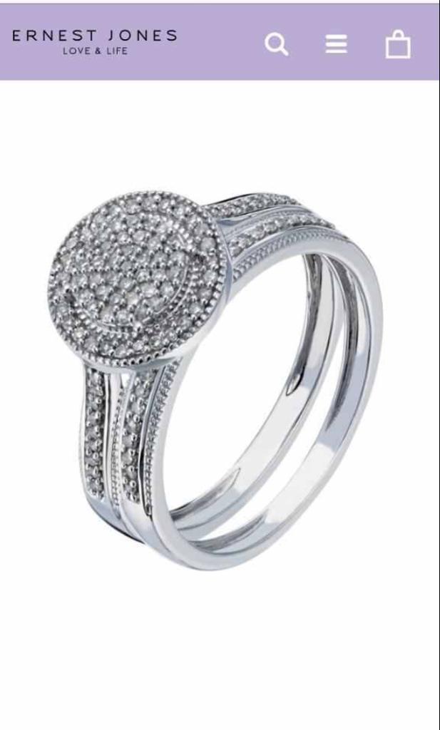 Everlasting Diamond 0.23 carat Material 9ct White