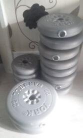 Various York weights.