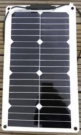 20W Flexible Solar Panel Titan-Energy UK + 50W 75W 100W 140W for boats caravans motorhomes