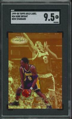 1999 Topps Gold Label New Standard #NS4 Kobe Bryant Mint+ SGC 9.5