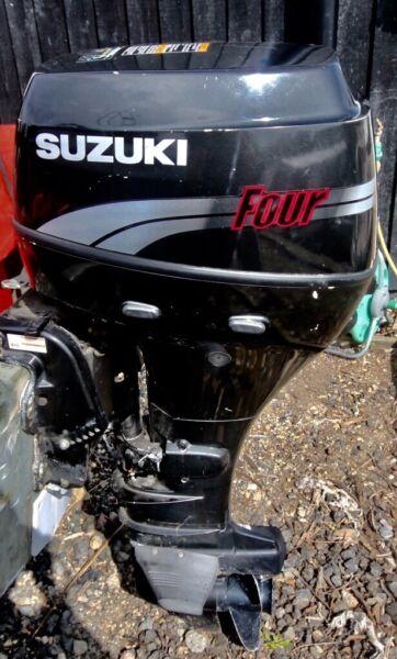 Suzuki 25hp 4 stroke outboard, remotes. ,  for sale  Norwich, Norfolk