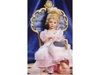 "Ashton Drake, Georgetown ""Cinderella"" Porcelain Doll by Ann Timmerman"