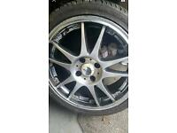 """Dots 17"""" 4x108 alloy wheels"""