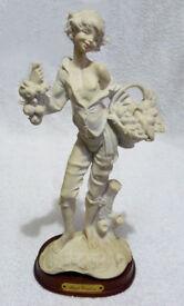 A Parian / Bisque Ware Figurine of a Street Vendor
