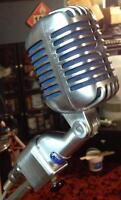 Shure vintage microphone