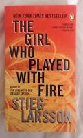 The Girl Who Played With Fire - soft cover - like new