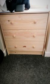 New IKEA chest of 3 drawers