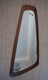 Vintage 1970 Retro Hall Wall Mirror Nice Shape and in Great condition.