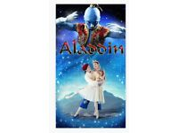 2x Tickets to Royal Ballet's Aladdin @ The Lowry Theatre WEDNESDAY 20th SEPT