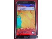 Samsung Galaxy Note 3, 16GB, Pristine Condition, Unlocked to all Network