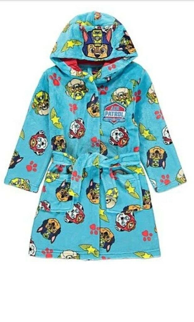 PAW Patrol Hooded Dressing Gown size 3-4y | in Northwich, Cheshire ...