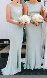 Ghost bridesmaid dresses (different sizes)