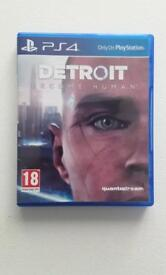 Detroit Become Human PS4 BRAND NEW