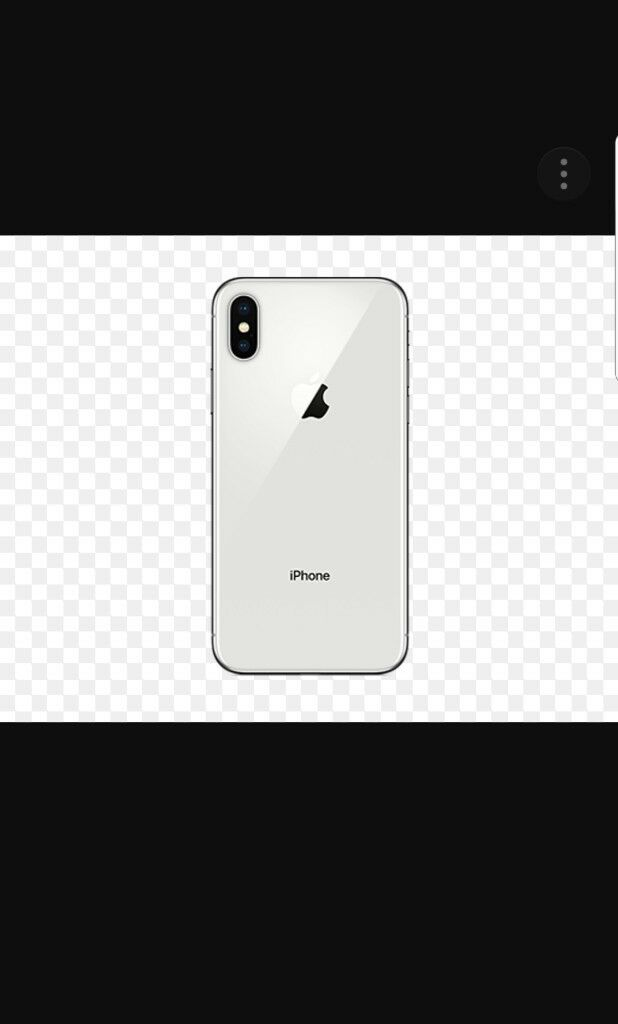 I-phone X brand new 256gb silver
