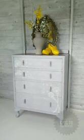 shabby chic chest of drawers, bedroom furniture