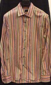 Paul Smith - multi coloured- signature stipe size 42 - 16 1/2