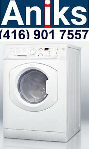 Ariston ARWDF129NA 24in Washer  Dryer Combo. 120V no venting required Made in Italy.